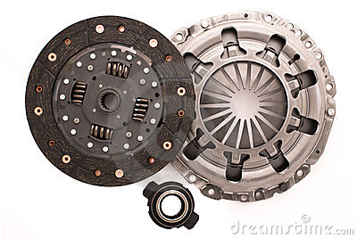 Car engine clutch.