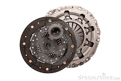 Car engine clutch