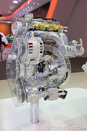 Car engine show