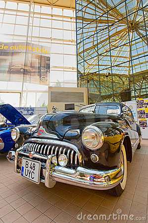 Car exhibition at Bucharest Classic Car Show Editorial Image