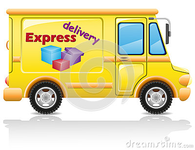 Car express delivery of mail and parcels
