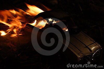 Car on Fire