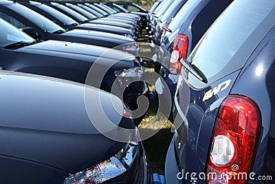 Car fleet row
