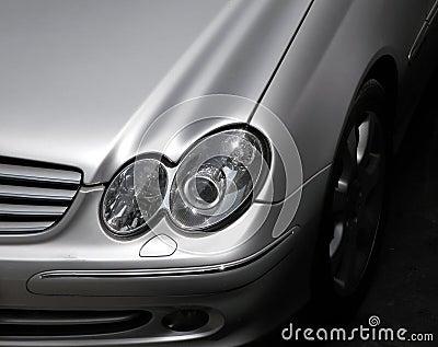 Car front detail
