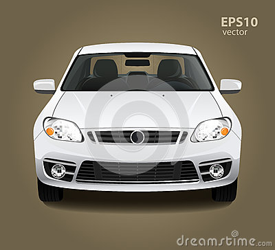 Free Car Front View Stock Photography - 64753092