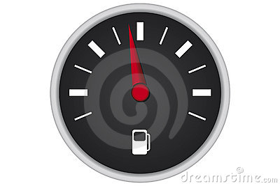 Car fuel panel
