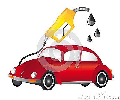 Car and fuel pump