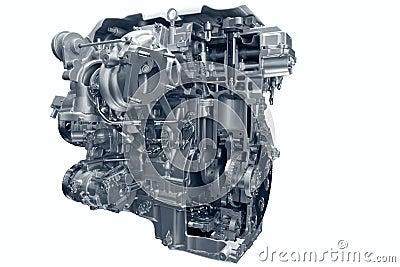 Car gas engine.