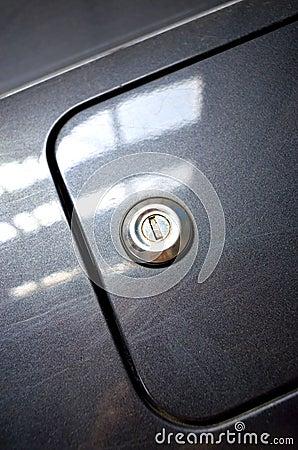 Car gas tank details
