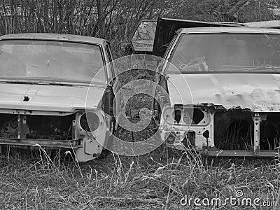 A car graveyard