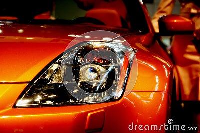Car head light detail