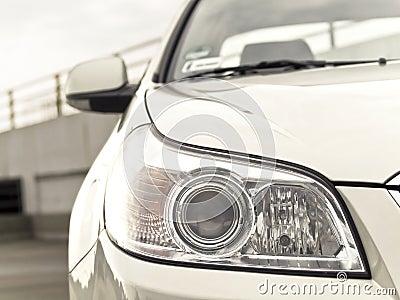 Car headlight.
