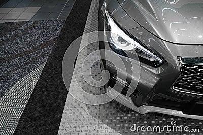 Car headlight, new Infiniti Q50