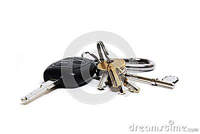 Car and house keys
