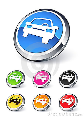 Free Car Icon Stock Photography - 11901192