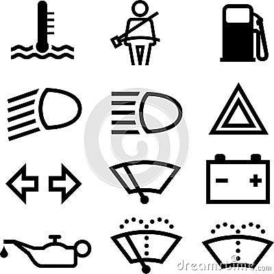 Free Car Indicators Stock Images - 8037604