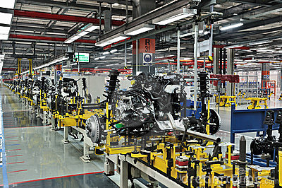 Car industry Editorial Image