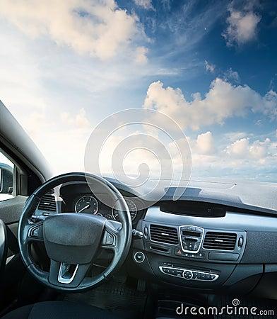 Free Car Inside Royalty Free Stock Photos - 61908098