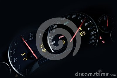 Car Instruments Dash