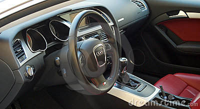 Car Interior Editorial Image