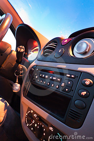 Free Car Interior Royalty Free Stock Image - 20757666