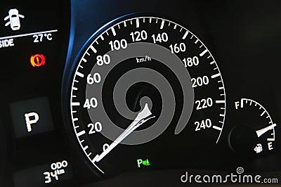 Car interior--panel
