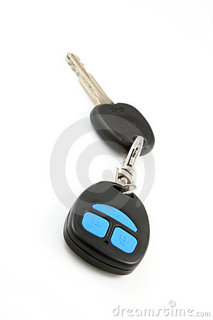 Car key with remote