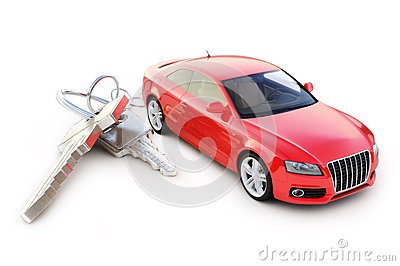 Car with keys