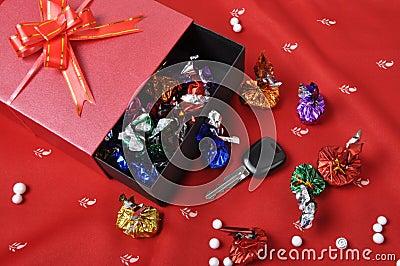 Car keys and chocolates