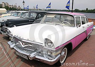 GAZ 13 Chaika (Soviet-made limousine) Editorial Photo