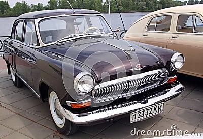 GAZ Volga (Soviet-made automobile) Editorial Stock Image