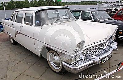 GAZ 13 Chaika (Soviet-made limousine) Editorial Image