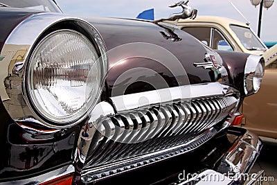 GAZ Volga (Soviet-made automobile) Editorial Photography
