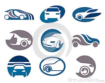 Car logo and emblem templates