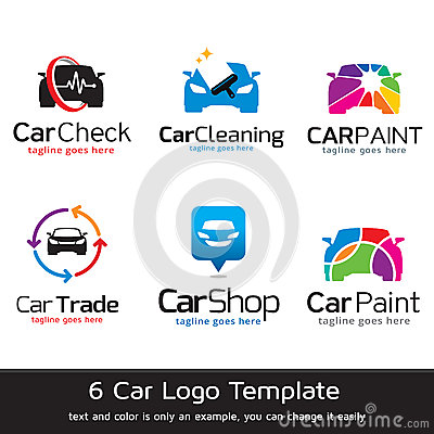 Car Logo Template Design Vector Vector Illustration