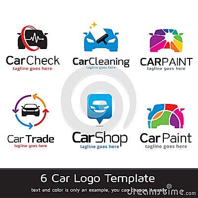 Car Logo Template Design Vector Vector Illustration