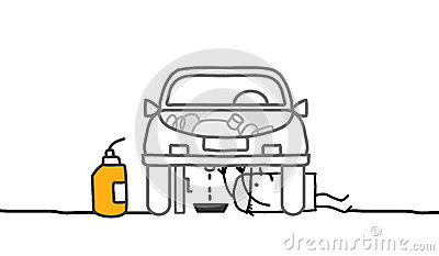 Car & mechanic