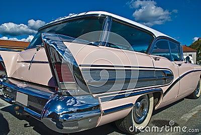 Am car meeting (buick century caballero 1958)