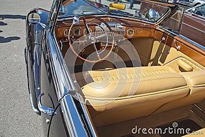 Am car meeting (cadillac convertible 1947)