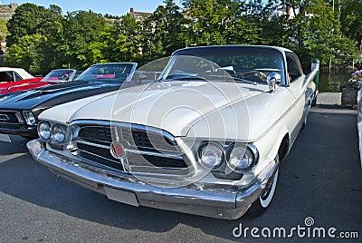 Am car meeting in halden (1960 chrysler 300 f)