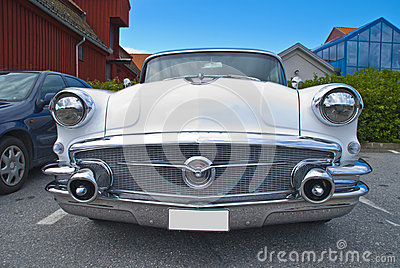 Am car meeting in halden (buick special 1956)