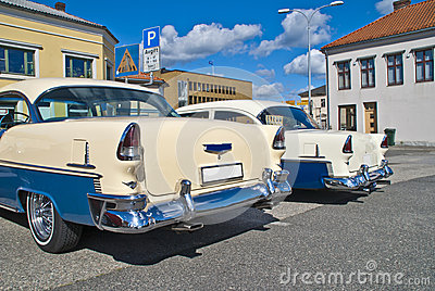 Am car meeting in halden (chevrolet 1955)