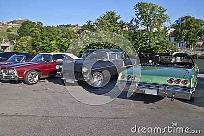 Am car meeting in Halden City (Chevrolet)