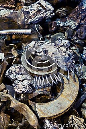 Car Metal Parts Scraps