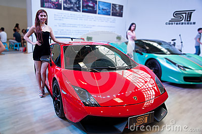 Car model and Roadster Editorial Image
