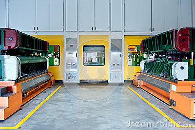 Of Car molding production line