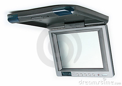 Car monitor and dvd player