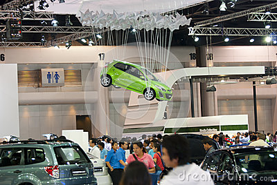 Car in Motor Expo Thailand Editorial Stock Image