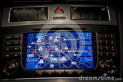 Car navigation, gps