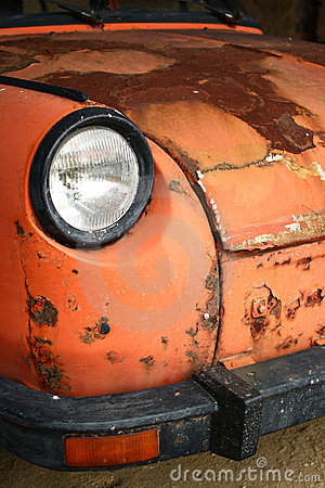 Car - old crock